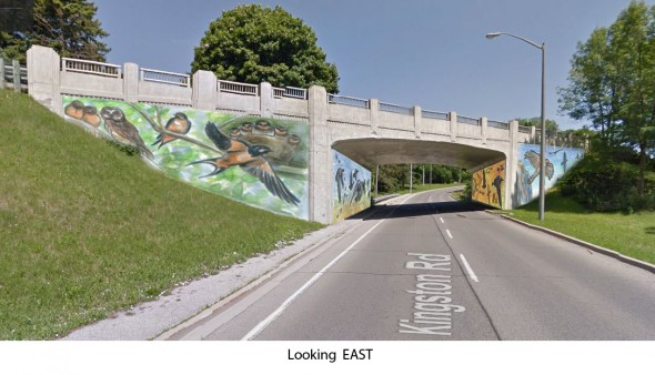 MAROIS-Looking East with mural