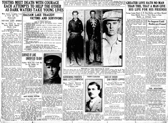 Toronto Star article about Balsam Lake tragedy