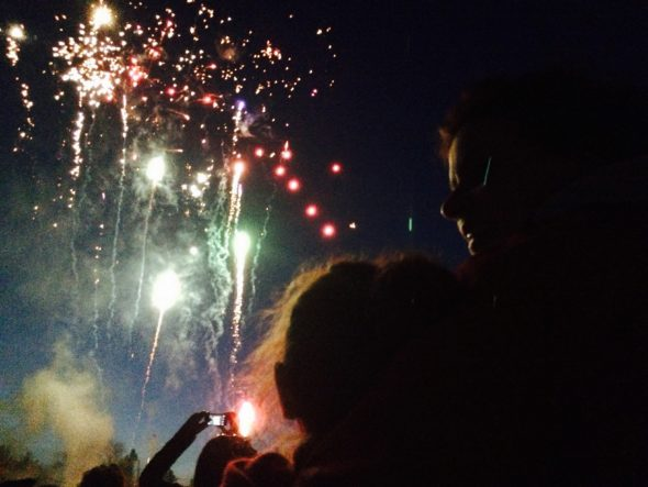 Victoria Day fireworks at Birch Cliff PS, 2015