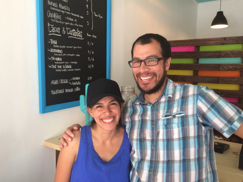 Los Hermanos owners Paulina Finkel and her brother Ismael Romero